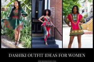 Dashiki Outfit Ideas for Women