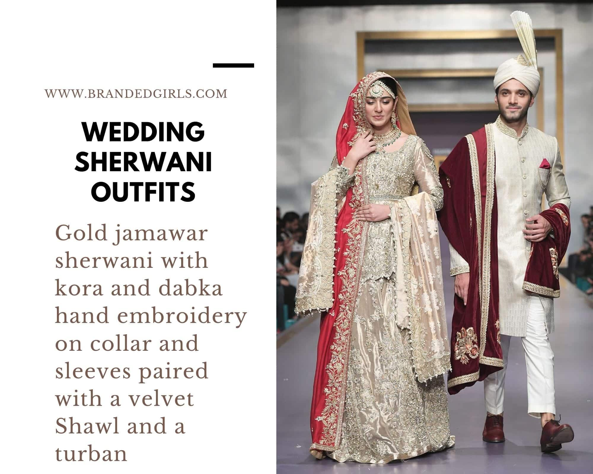Deepak-Perwani Wedding Sherwani Outfits - 20 Best Sherwani Ideas for Grooms