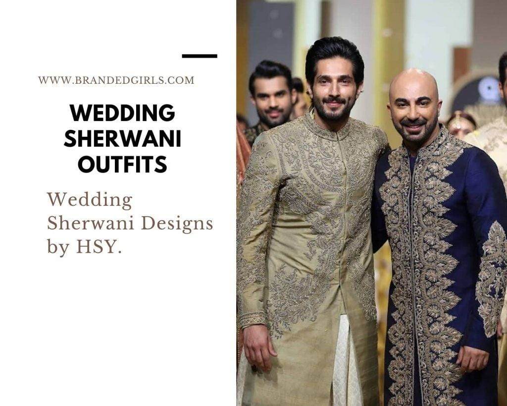 HSY-1024x819 Wedding Sherwani Outfits - 20 Best Sherwani Ideas for Grooms