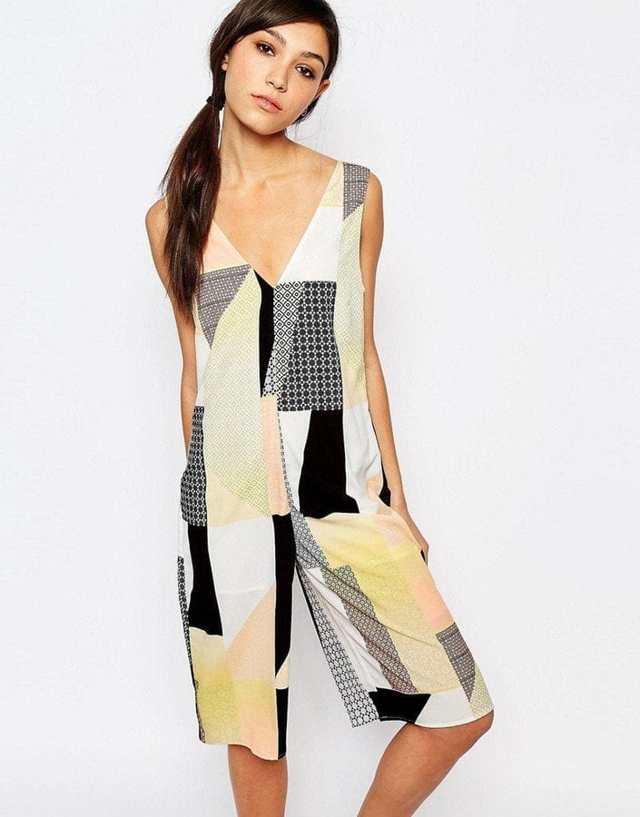 Neon-Rose-Relaxed-Cropped-Jumpsuit-Patchwork-Sold-Out