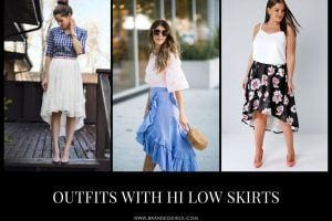 High Low Skirt Outfits 19 Best Ways To Style HiLow Skirts