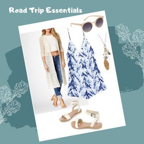 Road-Trip-Essentials-500x500 Road Trip Essentials–20 Best Outfits For Traveling in Summers