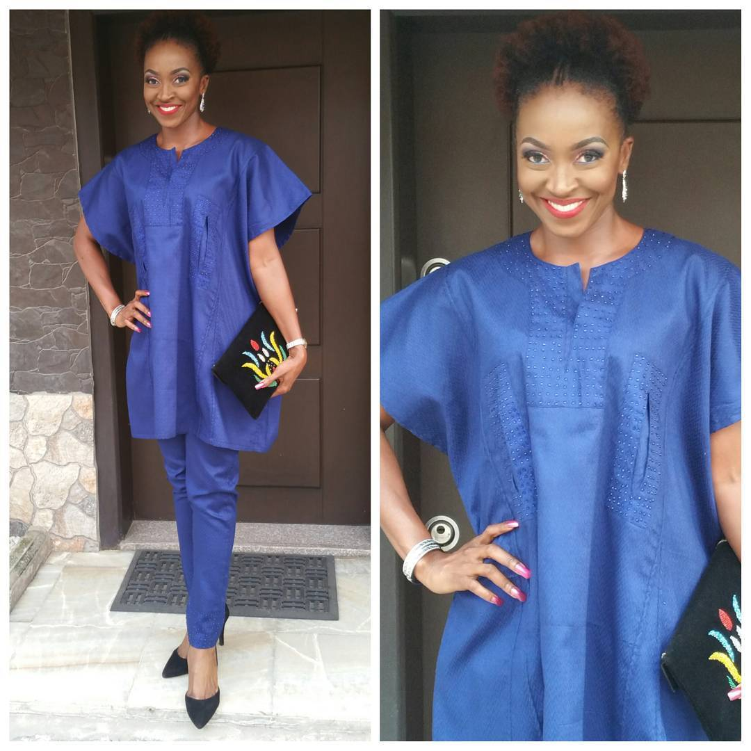 Shoes-and-Bags-with-Agbada-Dresses Agbada Outfits for Women - 20 Ways to Wear Agbada in Style