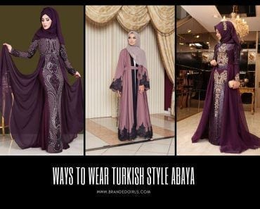 Ways to Wear Turkish Style Abaya (1)
