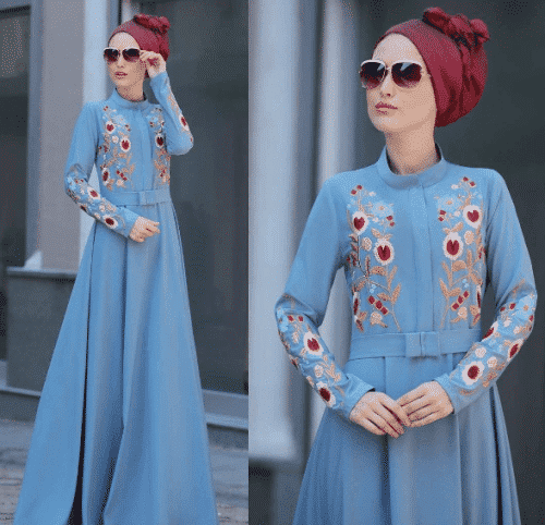 Turkish-abaya-12-500x482 Turkish Abaya Fashion - 20 Ways to Wear Turkish Style Abaya