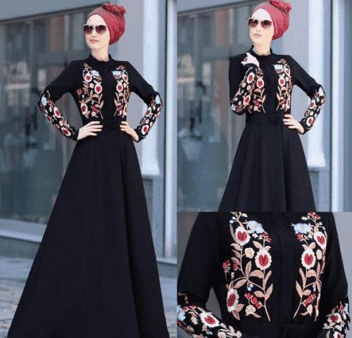Turkish-abaya-13-500x481 Turkish Abaya Fashion - 20 Ways to Wear Turkish Style Abaya