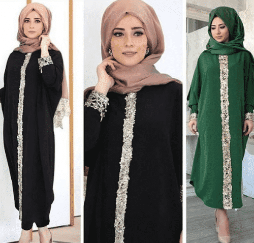 Turkish-abaya-15-500x478 Turkish Abaya Fashion - 20 Ways to Wear Turkish Style Abaya