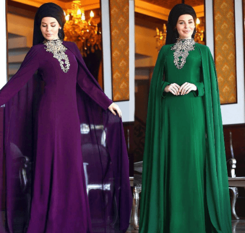 Turkish-abaya-18-500x477 Turkish Abaya Fashion - 20 Ways to Wear Turkish Style Abaya