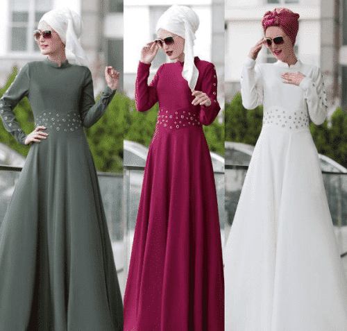 Turkish-abaya-20-500x477 Turkish Abaya Fashion - 20 Ways to Wear Turkish Style Abaya