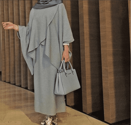 Turkish-abaya-3-500x476 Turkish Abaya Fashion - 20 Ways to Wear Turkish Style Abaya