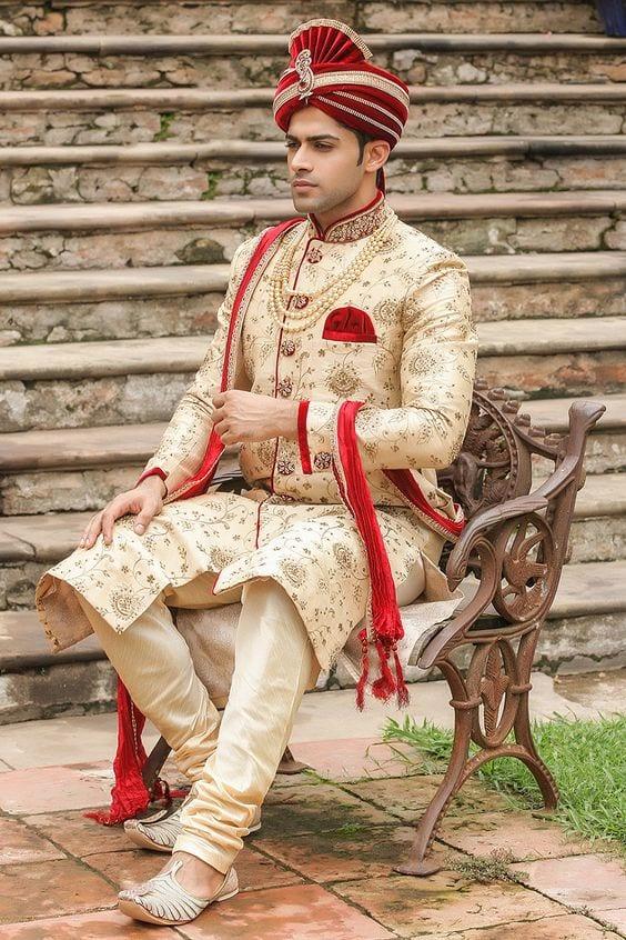 Wedding-2 Wedding Sherwani Outfits - 20 Best Sherwani Ideas for Grooms