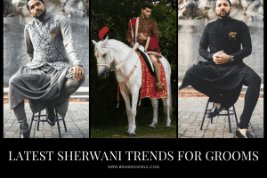 best sherwani styles for grooms