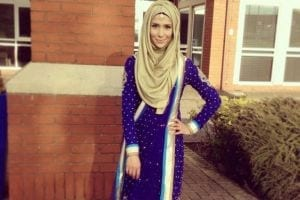 hijab with ethnic wear