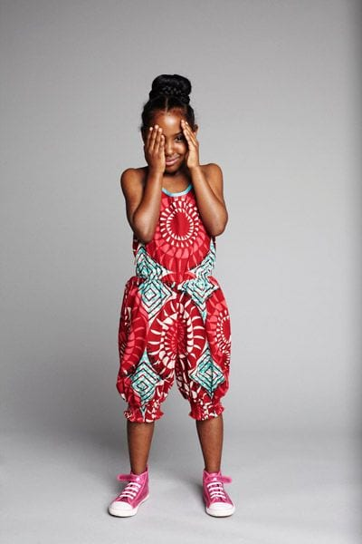 Ankara-Jumpsuits-for-your-Mini-me 20 Modern African Outfits for Children - African Dress for Kids