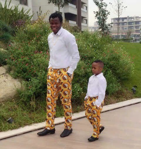 Ankara-Pants-for-Little-Boys Cute African Outfits- 20 Modern African Outfits for Children