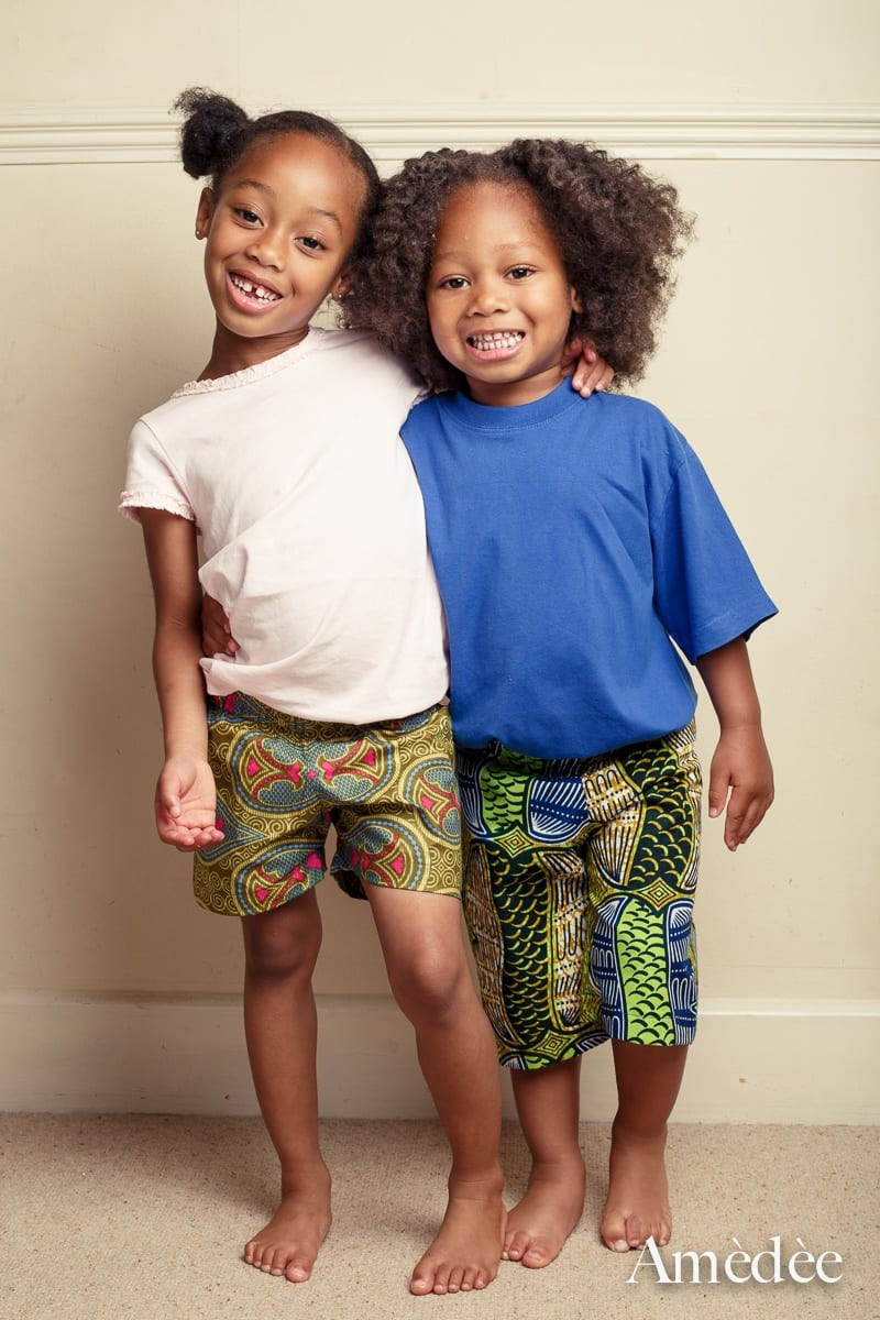 Ankara-Shorts-for-Boys 20 Modern African Outfits for Children - African Dress for Kids