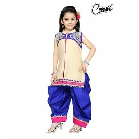 Baby-Salwar-Kameez Punjabi Dress for Kids- 30 Best Punjabi Outfits for Children