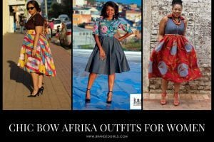 Bow Afrika Outfits for Women