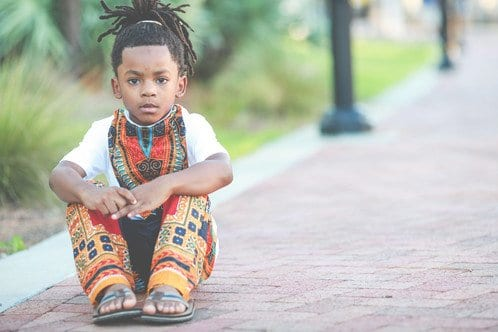 Dashiki-Pants-for-Boys 20 Modern African Outfits for Children - African Dress for Kids