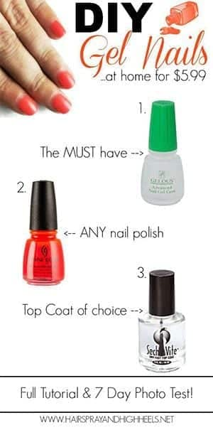 Easy-Simple-Step-By-Step-Gel-Nail-Art-Tutorials-For-Beginners-Learners-2014-4 How to Get Gel Nails- 20 Ideas and Tutorial for Gel Nail Art