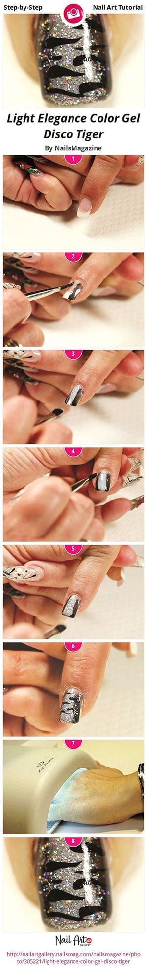 Easy-Simple-Step-By-Step-Gel-Nail-Art-Tutorials-For-Beginners-Learners-2014-9 How to Get Gel Nails- 20 Ideas and Tutorial for Gel Nail Art