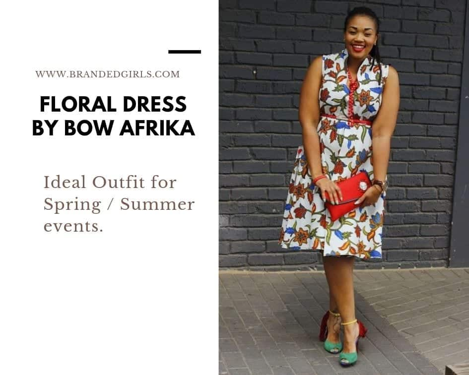Floral-Dress-By-Bow-Africa Bow Afrika Clothes - Top 30 Chic Bow Afrika Outfits for Women