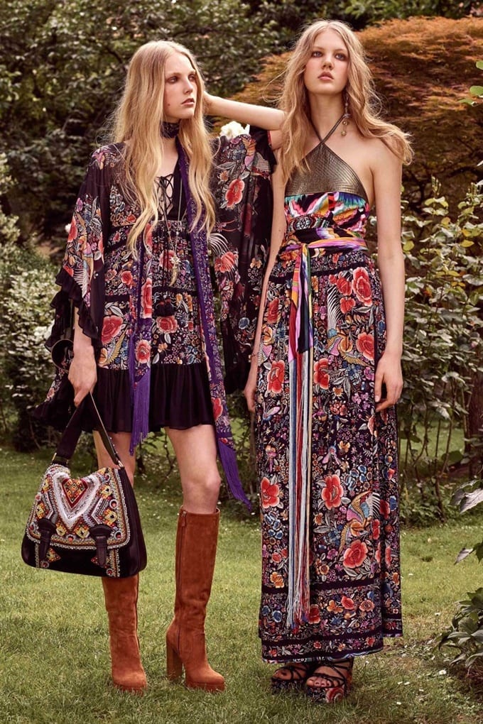 Floral-Long-Dress Funky Festival Outfits - 30 Funky Outfits for Girls to Wear