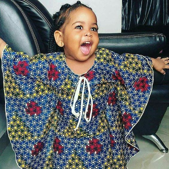 Kaftans-for-Little-Girls Cute African Outfits- 20 Modern African Outfits for Children