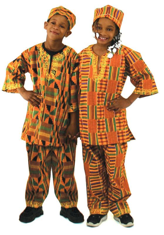 Kente-Outfits-for-Boys Cute African Outfits- 20 Modern African Outfits for Children