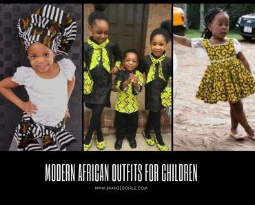 Modern African Outfits for Kids