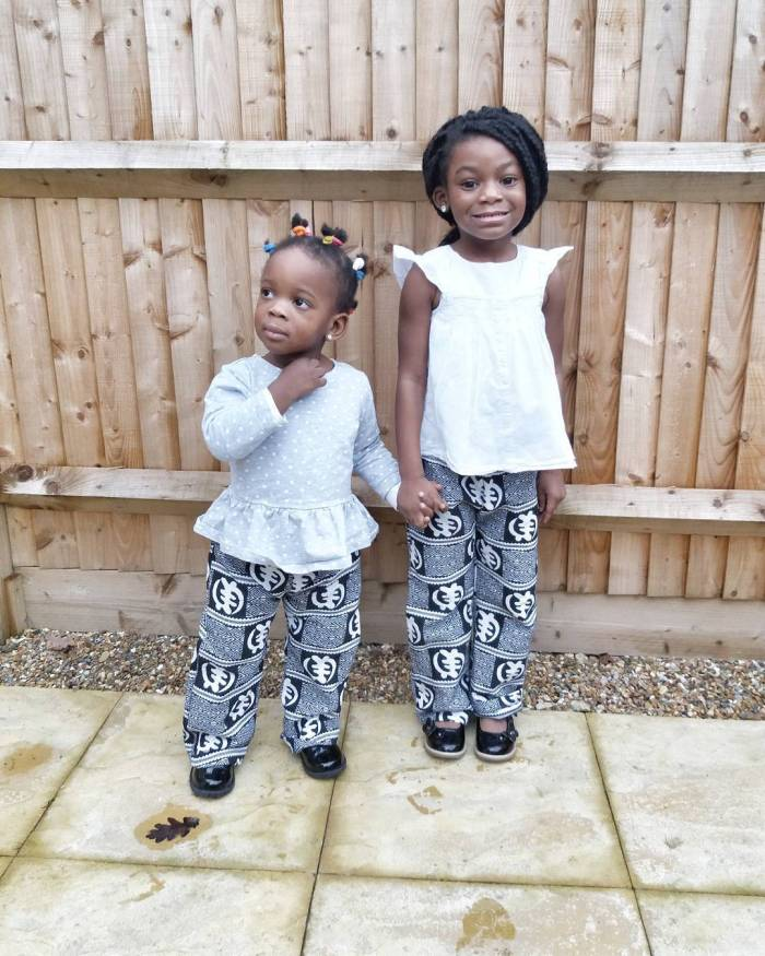 Monochrome-African-Prints-for-Princesses Cute African Outfits- 20 Modern African Outfits for Children