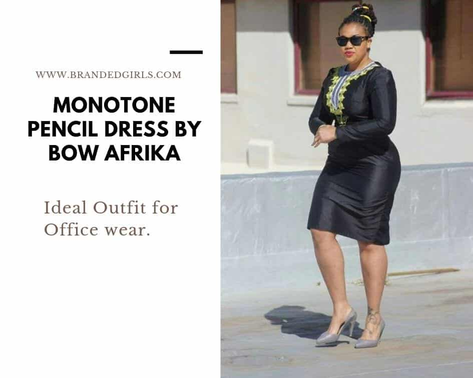 Pencil-Dress Bow Afrika Clothes - Top 30 Chic Bow Afrika Outfits for Women