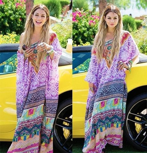 Venessa-Hudgens-Funky-Coachella-Outfit Funky Festival Outfits - 30 Funky Outfits for Girls to Wear