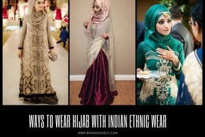 30 Ways to Wear Hijab with Indian Ethnic Wear Outfits