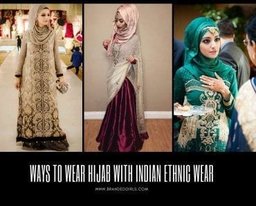 Hijab with Indian Ethnic Wear