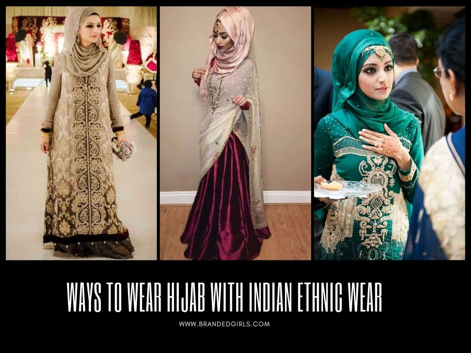 Ways-to-Wear-Hijab-with-Indian-Ethnic-Wear 30 Ways to Wear Hijab with Indian Ethnic Wear
