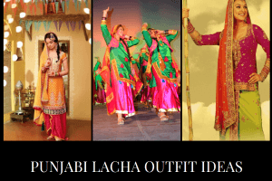 Punjabi Lacha Outfit Ideas 15 Ways to Wear Lacha for Girls