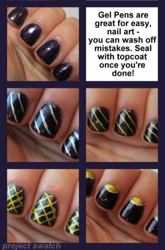 nail-gel-pens-collage-e1358907616994-331x500 How to Get Gel Nails- 20 Ideas and Tutorial for Gel Nail Art