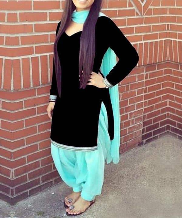 patiala-shalwar-work-outfit Classy Patiala Outfits-34 Amazing Ways to Wear Patiala Salwar