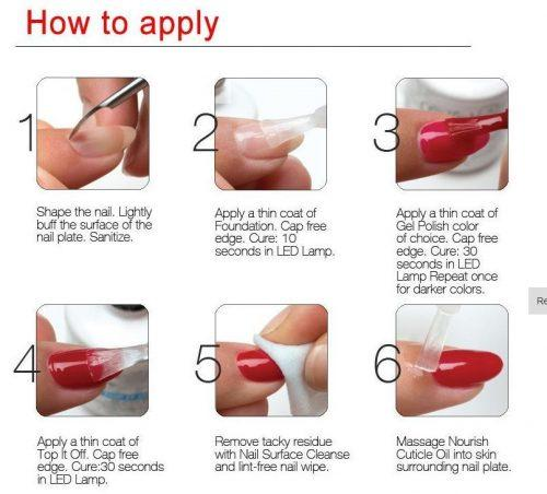 simple-500x452 How to Get Gel Nails- 20 Ideas and Tutorial for Gel Nail Art