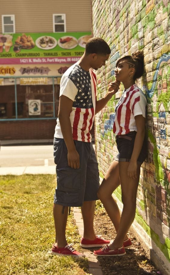 20-Matching-patriotism 13 Cutest Matching Outfits For Black Couples
