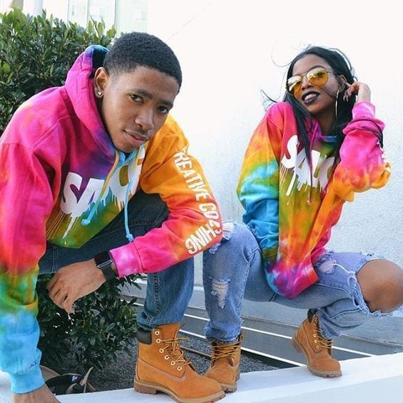 29-Rocking-Rainbows 13 Cutest Matching Outfits For Black Couples