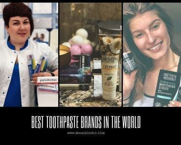 Toothpaste brands in the world