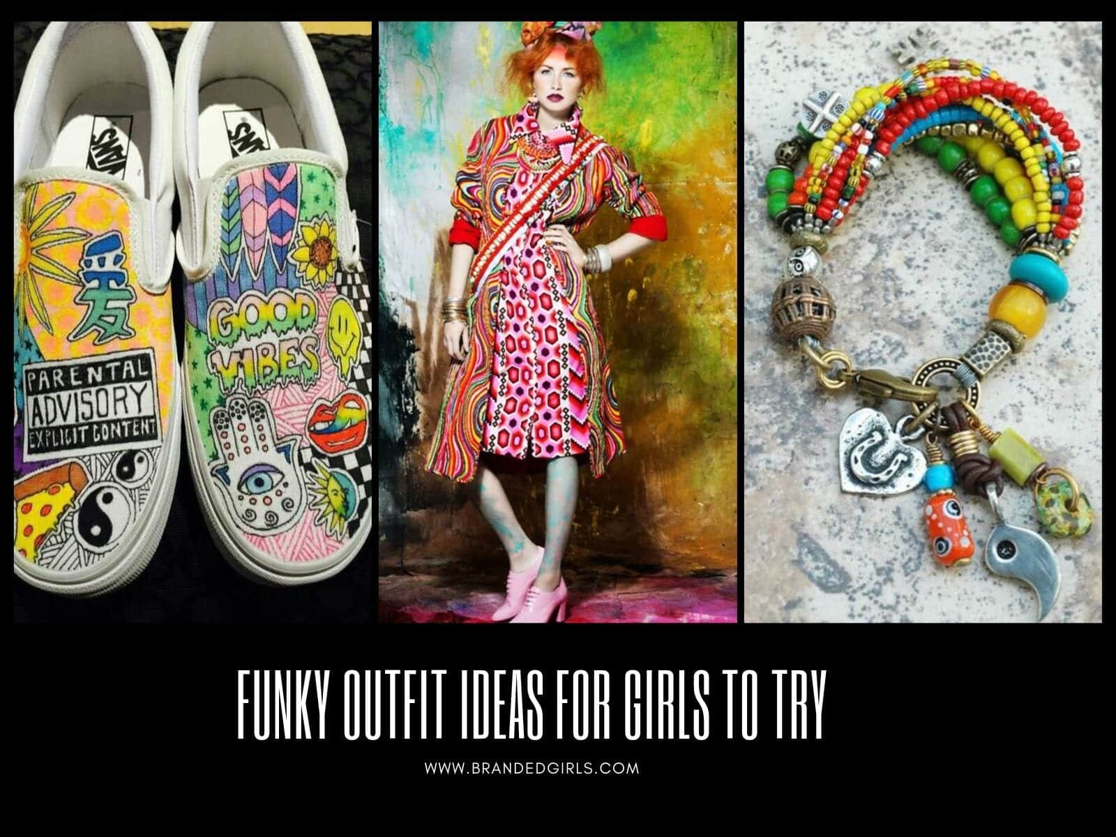 Funky-Outfits-for-Girls-to-Wear Funky Festival Outfits - 30 Funky Outfits for Girls to Wear