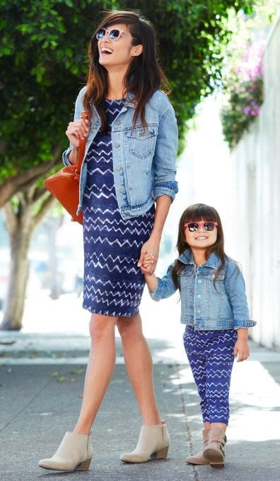 Funky-Outfits-for-Moms-and-Mini-mes Funky Outfits for Ladies - 30 Ways to Look Funky for Women