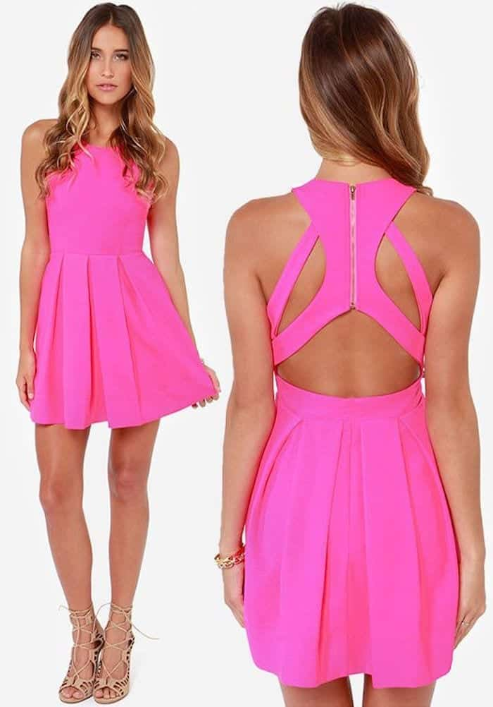 Funky-Short-Frocks Funky Outfits for Wedding-30 Funky Styles for Wedding Guests