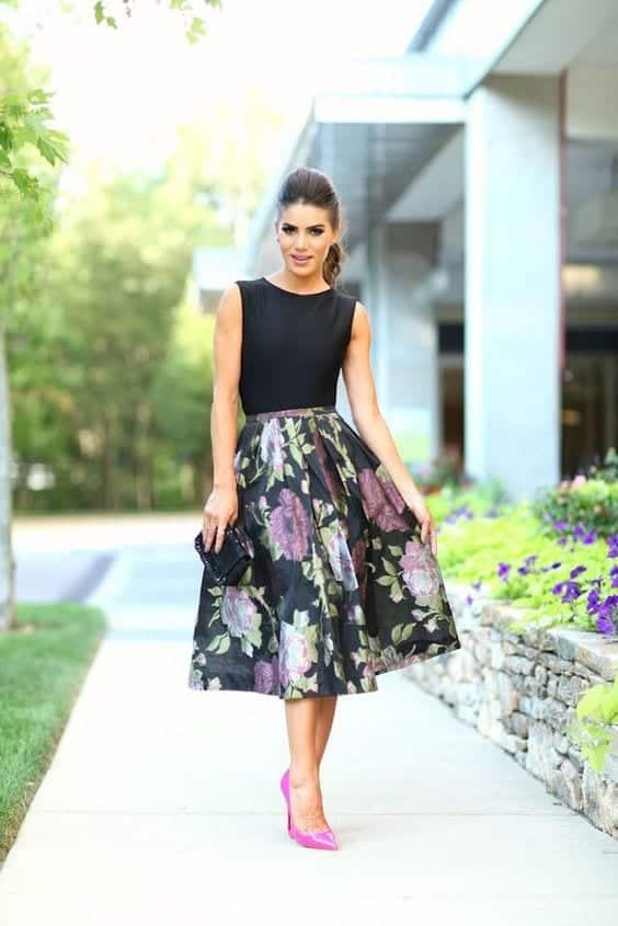Funky-Summer-Look-for-Wedding-Guests Funky Outfits for Wedding-30 Funky Styles for Wedding Guests
