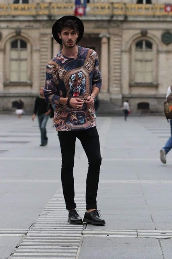 Hipster-Funky-Attire 30 Funky Outfits for Guys Trending These Days