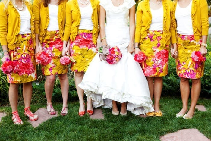 Spring-Style-Bridesmaid-Attire Funky Outfits for Wedding-30 Funky Styles for Wedding Guests