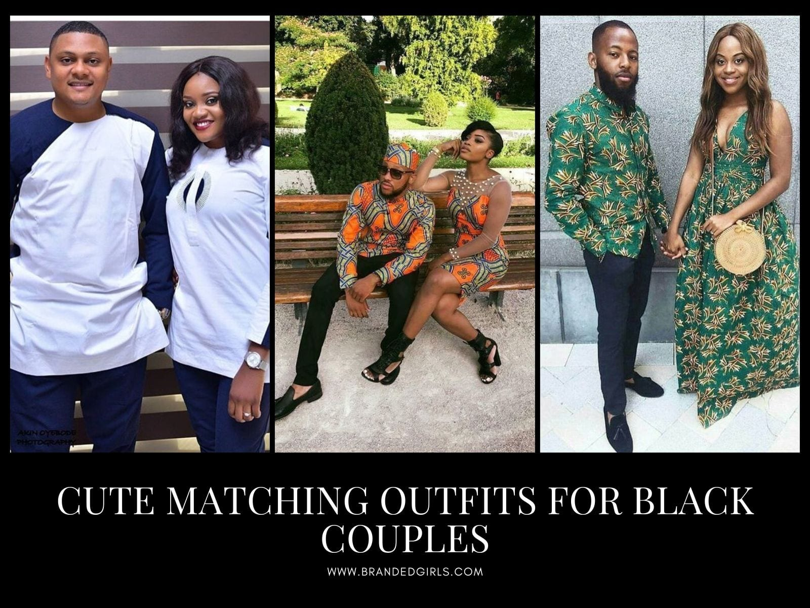 Cutest-Matching-Outfits-For-Black-Couples 13 Cutest Matching Outfits For Black Couples